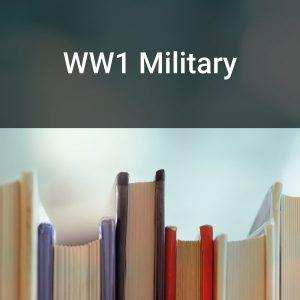 WW1 Military